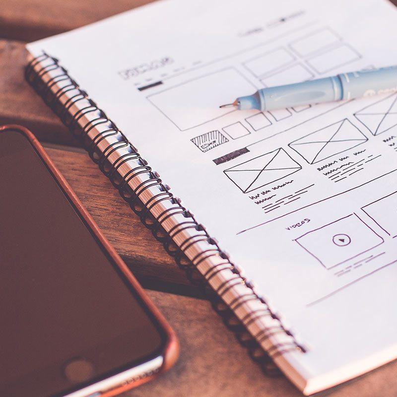 Planification de l'expérience utilisateur sur site web e-commerce, application et site web vitrine